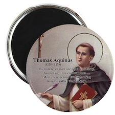 Theology Thomas Aquinas Magnet