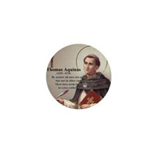 Theology Thomas Aquinas Mini Button (100 pack)