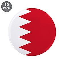 "Flag of Bahrain 3.5"" Button (10 pack)"
