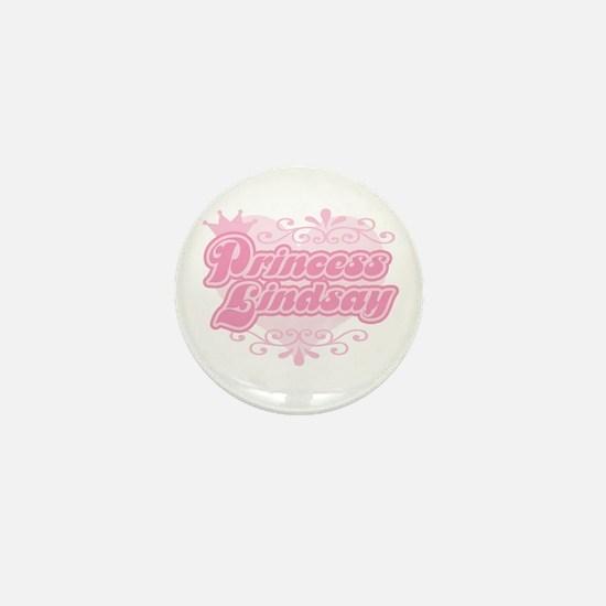 Princess Lindsay Mini Button