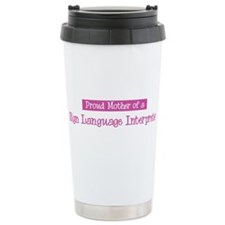 Proud Mother of Sign Language Travel Mug