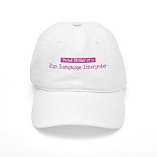 Proud Mother of Sign Language Baseball Cap