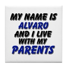 my name is alvaro and I live with my parents Tile