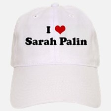 I Love Sarah Palin Baseball Baseball Cap