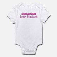 Proud Mother of Law Student Infant Bodysuit