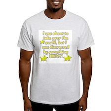 Something shiny Ash Grey T-Shirt
