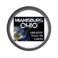 miamisburg ohio - greatest place on earth Wall Clo