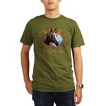 I'd Rather Be Riding Horses Organic Men's T-Shirt