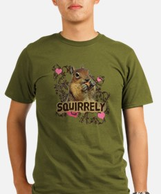 Squirrely Squirrel Lover T-Shirt