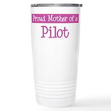 Proud Mother of Pilot Travel Mug