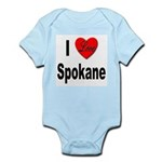 I Love Spokane Infant Creeper