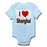 I Love Shanghai China Infant Creeper