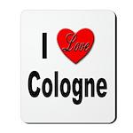 I Love Cologne Germany Mousepad