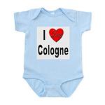 I Love Cologne Germany Infant Creeper
