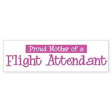 Proud Mother of Flight Attend Bumper Bumper Sticker