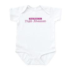 Proud Mother of Flight Attend Infant Bodysuit
