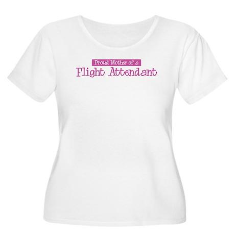 Proud Mother of Flight Attend Women's Plus Size Sc