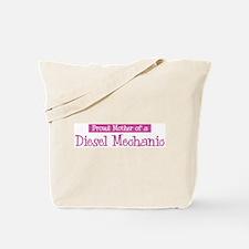 Proud Mother of Diesel Mechan Tote Bag