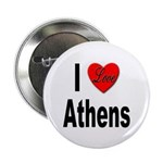 I Love Athens Greece Button