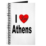 I Love Athens Greece Journal