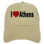 I Love Athens Greece Cap