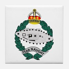 Fear Naught Tile Coaster