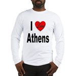 I Love Athens Greece Long Sleeve T-Shirt