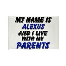 my name is alexus and I live with my parents Recta