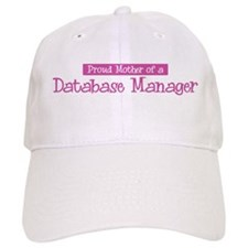 Proud Mother of Database Mana Baseball Cap
