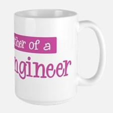 Proud Mother of Civil Enginee Large Mug