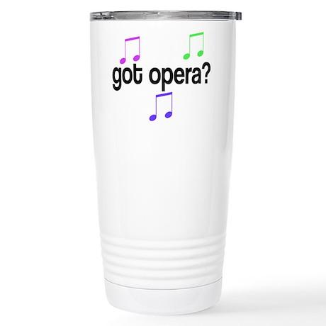Got Opera Stainless Steel Travel Mug