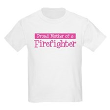Proud Mother of Firefighter T-Shirt