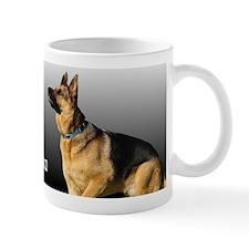 I love Oma German Shepherd Mug