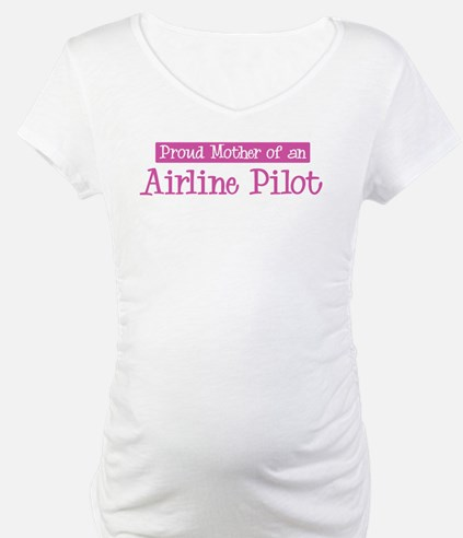 Proud Mother of Airline Pilot Shirt