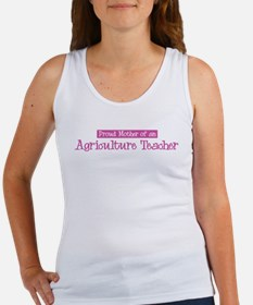 Proud Mother of Agriculture T Women's Tank Top