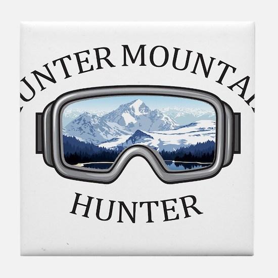 Hunter Mountain - Hunter - New York Tile Coaster