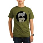 Bling Border Collie Organic Men's T-Shirt (dark)