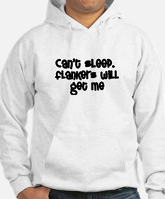 Can't Sleep Flankers Will Get Me Rugby Hoodie