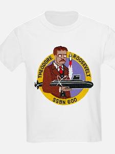 USS THEODORE ROOSEVELT Kids T-Shirt