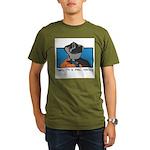 Real Cowboy Organic Men's T-Shirt (dark)