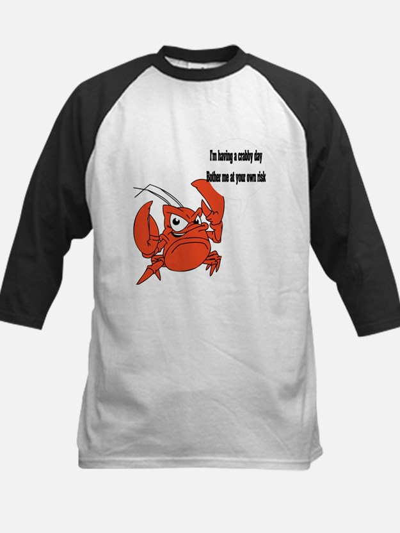 Crabby Day Kids Baseball Jersey