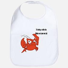 Crabby Day Bib