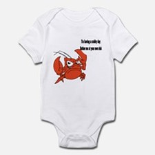 Crabby Day Infant Bodysuit