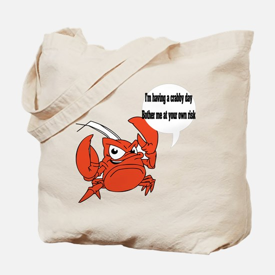 Crabby Day Tote Bag