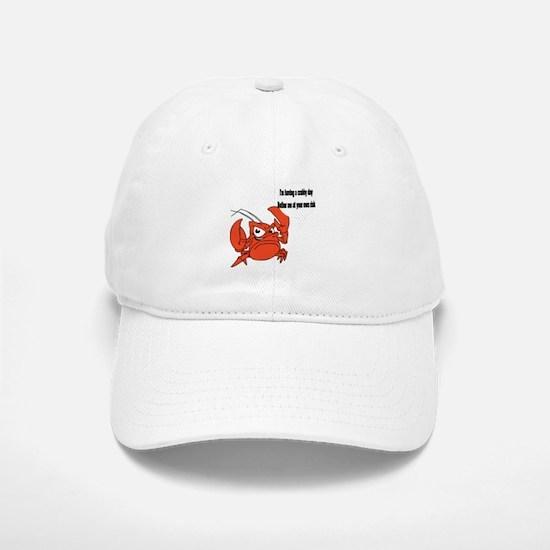 Crabby Day Baseball Baseball Cap