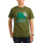 Let's Bounce Dice (Die) Organic Men's T-Shirt (dar