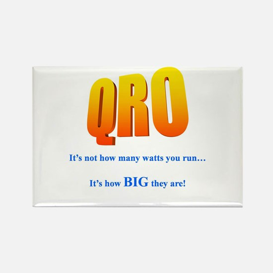 QRO STUFF Rectangle Magnet (10 pack)
