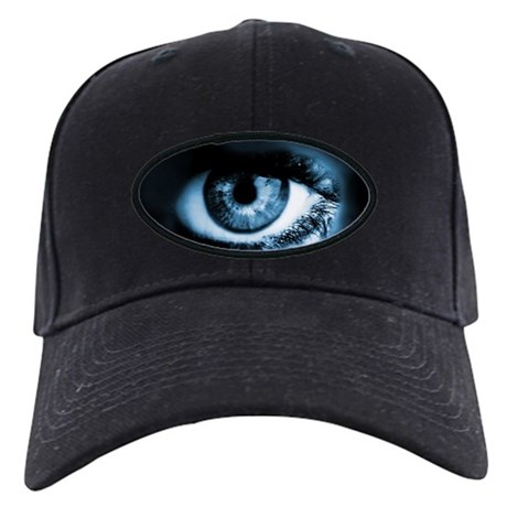 Blue Third Eye Black Cap