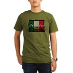 Italian pride Organic Men's T-Shirt (dark)