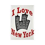 I Love New York Rectangle Magnet (10 pack)